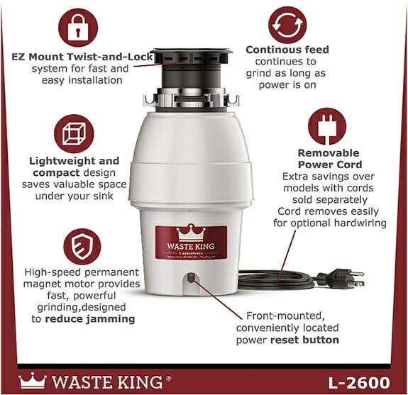 Waste King Garbage Disposal Review